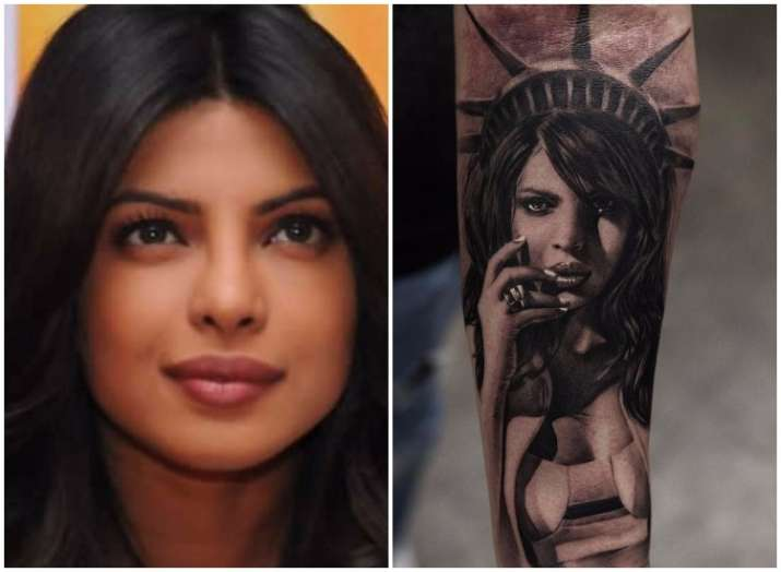 Priyanka Chopra as Statue of Liberty: A fan gets a tattoo