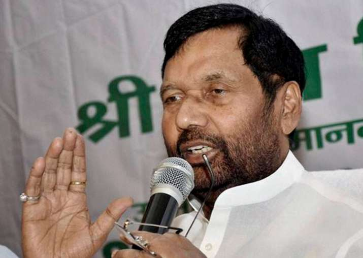 File pic of Union minister Ram Vilas Paswan