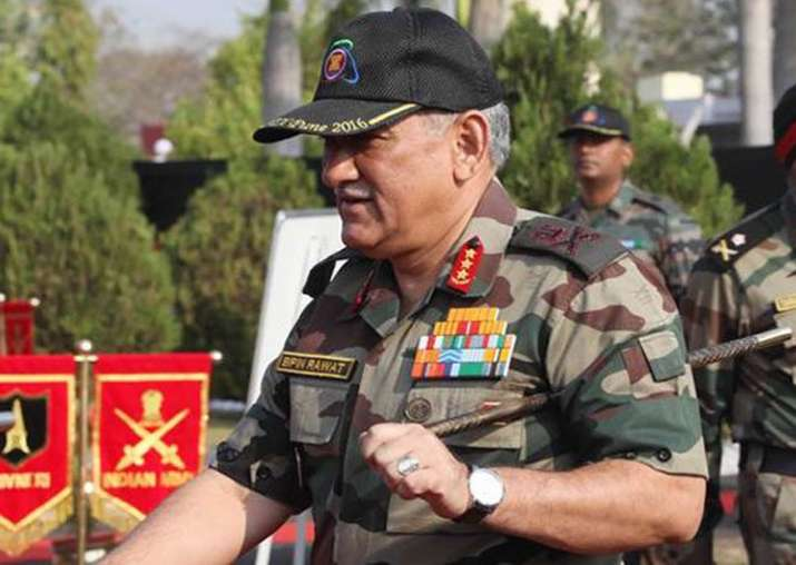 File pic - Army Chief takes stock of op preparedness in