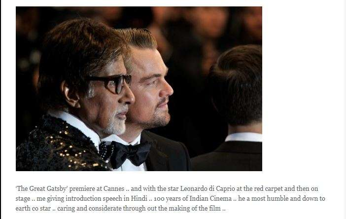 India Tv - He finds Leonardo DiCaprio as one of the most down to Earth person