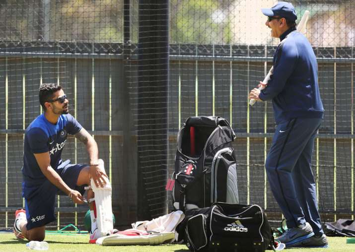 A file image of ex-India Team Director Ravi Shastri and