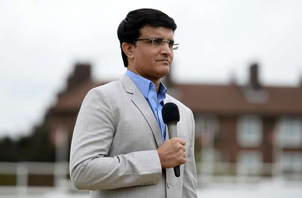 Sourav Ganguly during the ICC Champions Trophy Warm-up Match