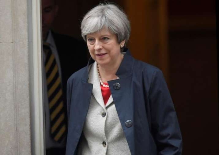 British PM Theresa May survives first major test in
