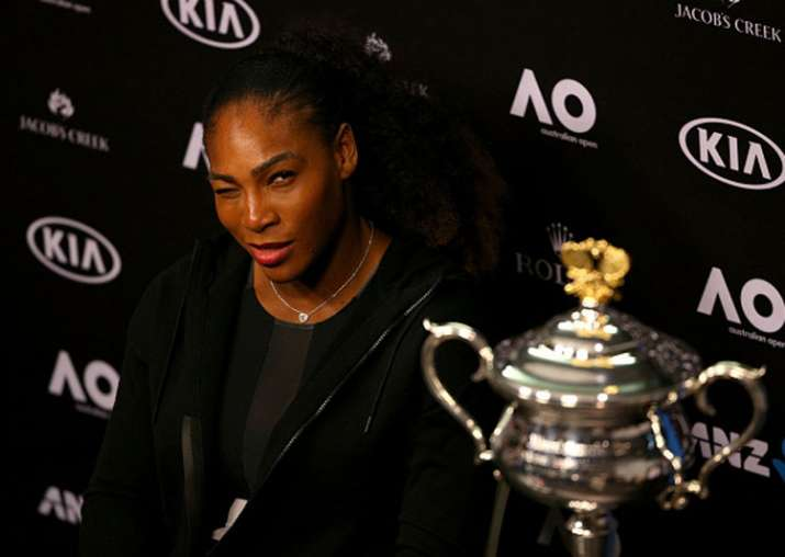 A file image of Serena Williams.