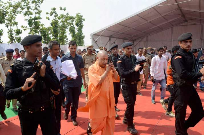 Yogi govt launched a booklet to enlist 100 days'