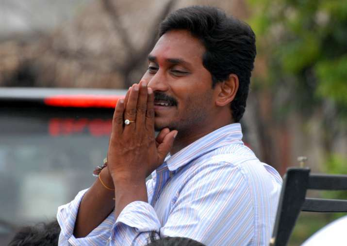 File pic of YSRC president YS Jagan Mohan Reddy