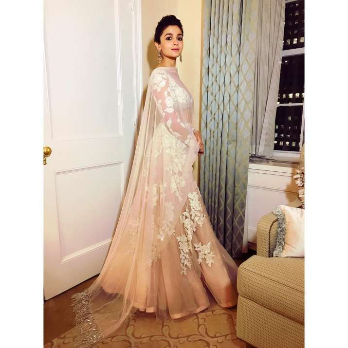 India Tv - alia bhatt in Manish Malhotra