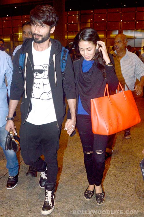 India Tv - Shahid with wife