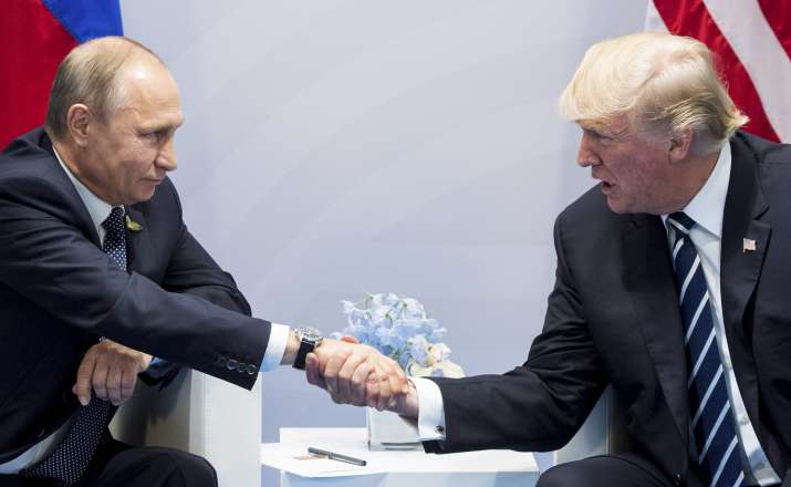 Trump rules out easing Russia sanctions unless Syria,