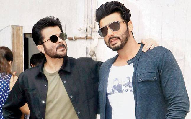 Anil Kapoor and Arjun Kapoor