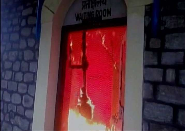 Darjeeling Himalayan Railway Toy train station torched in