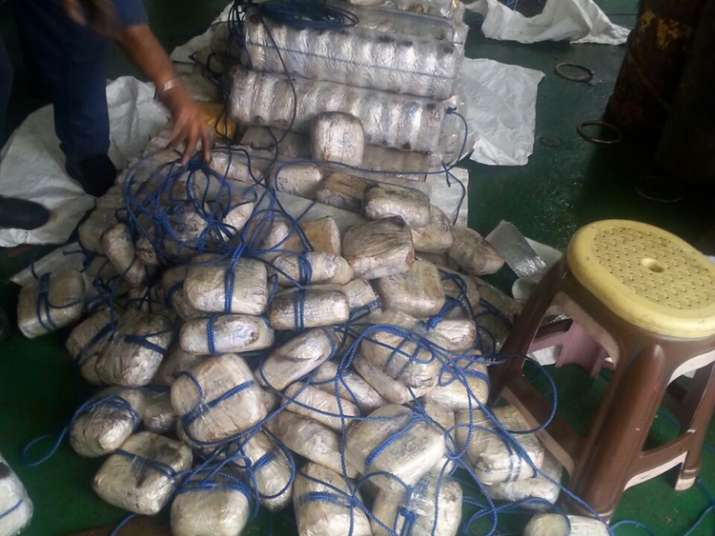 Indian Coast Guard seized 1,500 kgs heroin worth Rs 3,500