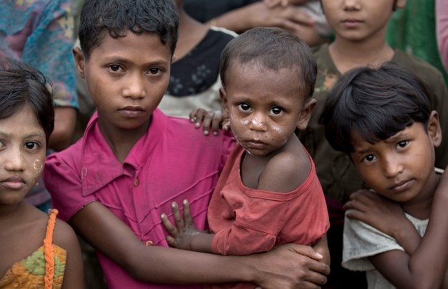 80,000 children 'wasting' from hunger in Myanmar: UN