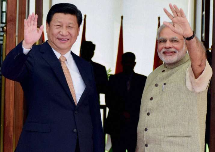 File pic - Xi Jinping and PM Narendra Modi