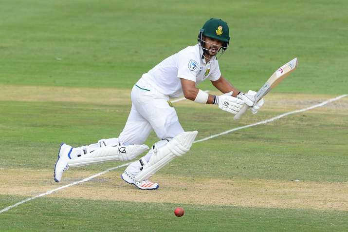 JP Duminy of the Proteas in action