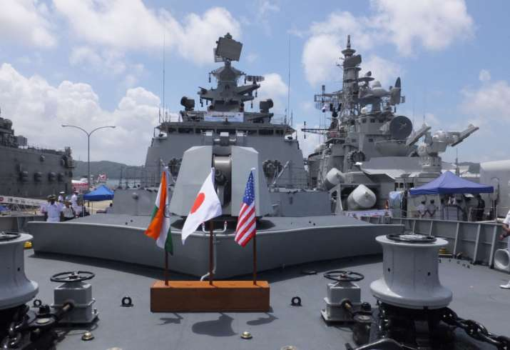 Amid standoff with China, India, US and Japan to begin