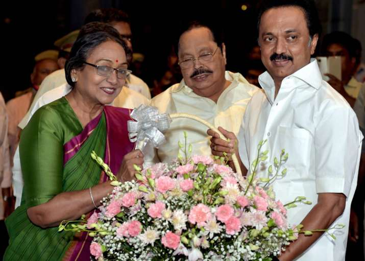 Meira Kumar appeals to Tamil Nadu MLAs, MPs to heed to