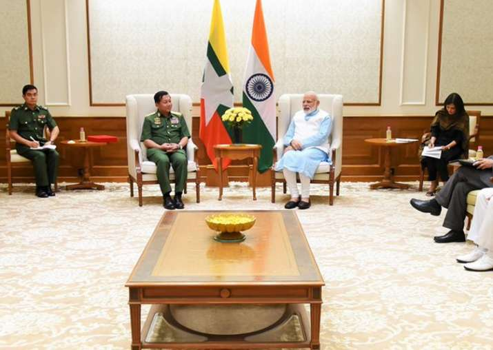 Myanmar is key pillar in India's 'Act East' policy: PM Modi