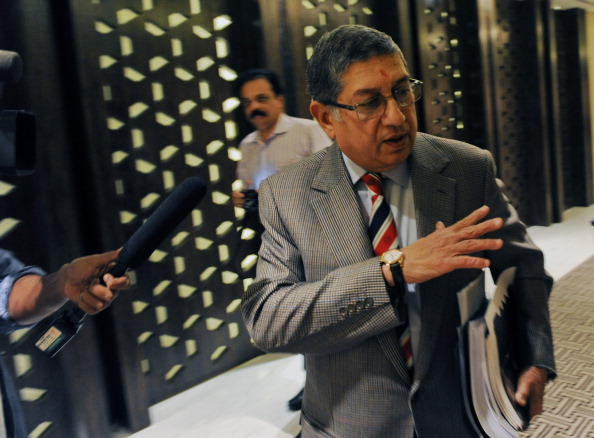A file image of N. Srinivasan
