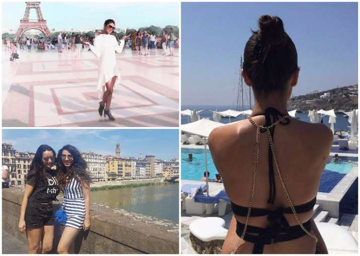 priyanka chopra paris holiday pictures