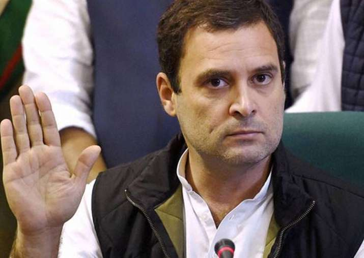 File pic of Congress vice-president Rahul Gandhi