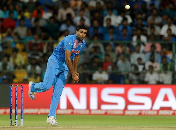 Ravichandran Ashwin of India in action during a match