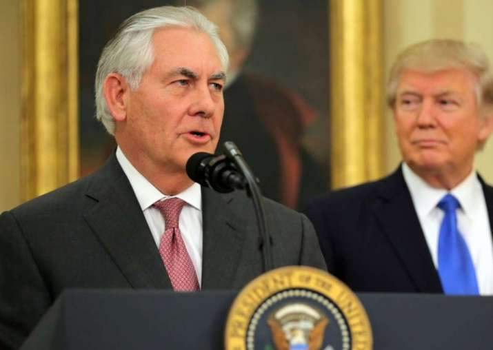 File pic of US Secretary of State Rex Tillerson