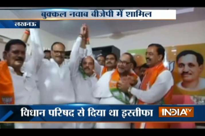 Bukkal Nawab joins BJP with two other former MLCs