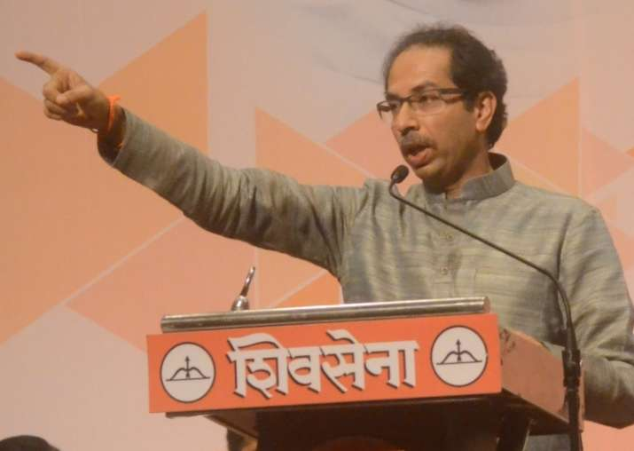 File pic of Shiv Sena supremo Uddhav Thackeray