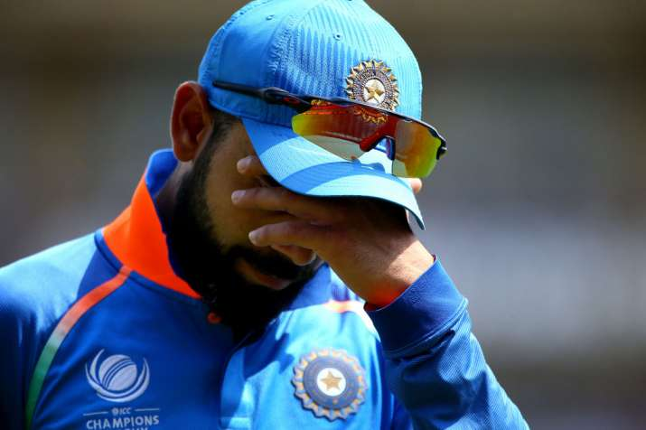 Virat Kohli disappointed after the loss
