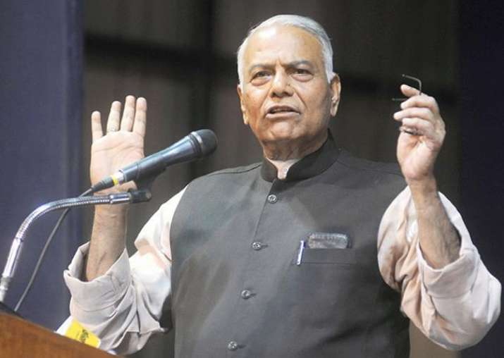 File pic of BJP leader Yashwant Sinha
