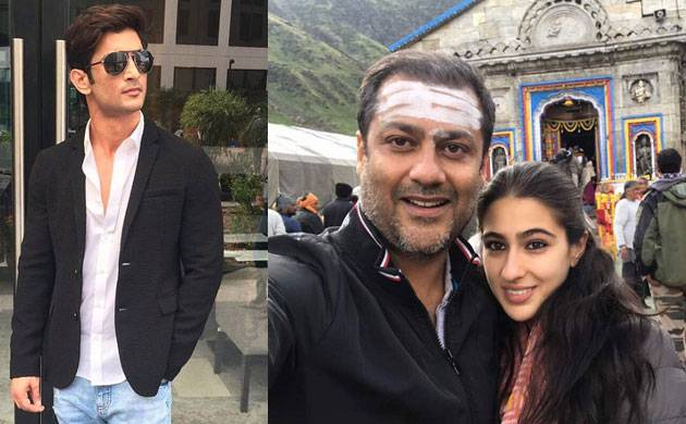 Kedarnath Shooting of Sara Ali Khan Sushant Singh Rajput