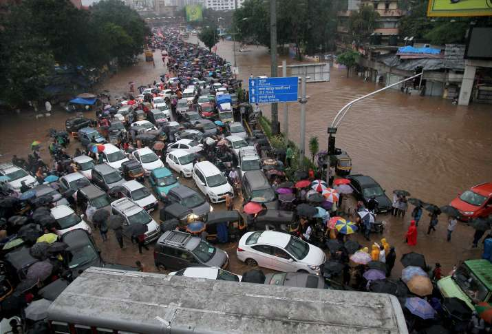 Mumbai rains wreak havoc