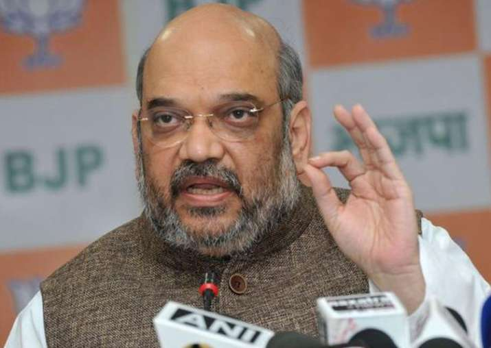 Amit Shah completes three years as BJP president tomorrow