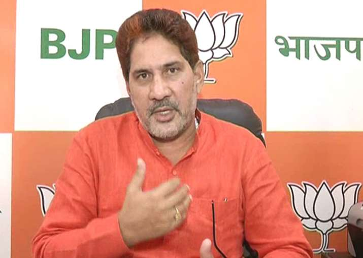 File pic of Haryana BJP chief Subhash Barala