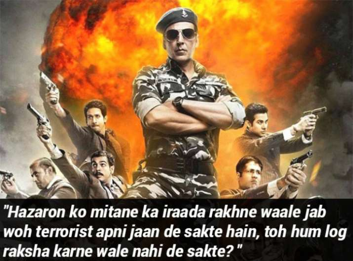 India Tv - Akshay Kumar in the film Holiday: A Soldier is never off duty