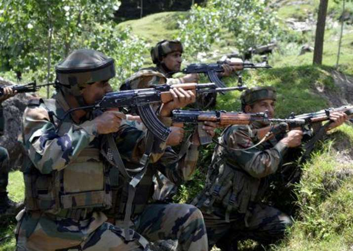 Representative image. Two militants were killed in an