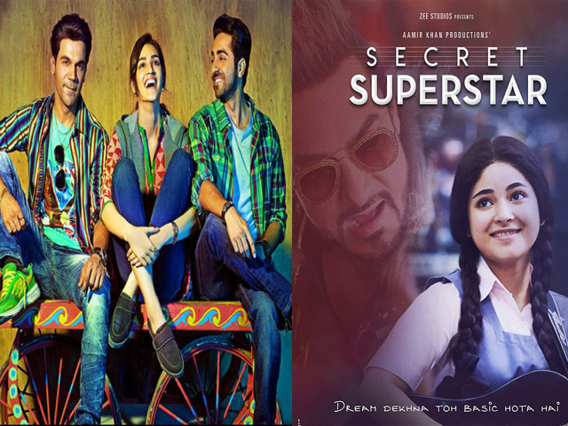 Prabhas Starrer Baahubali 2 Fails To Impress Audience In: From Secret Superstar To Bareilly Ki Barfi: Here're