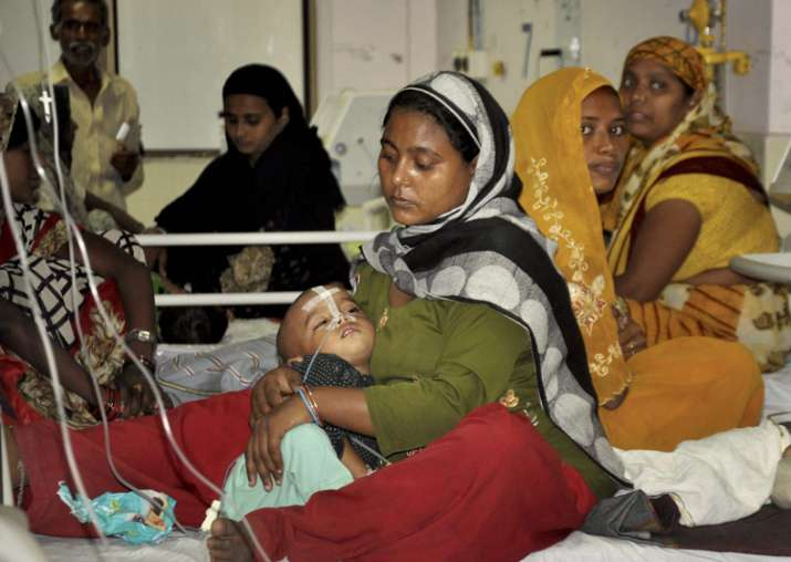 Gorakhpur: An inside view of a ward of BRD Medical College