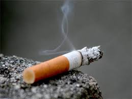 smoking cigarettes, throat cancer, india tv
