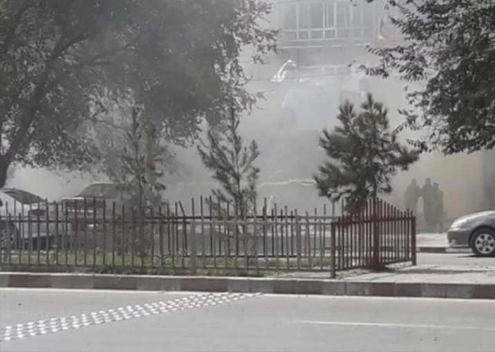 Explosion near US Embassy in Kabul