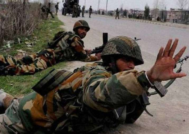 File pic - Two soldiers martyred, four injured in Kashmir