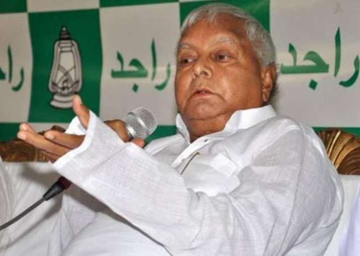 Nitish Kumar trying to cover up NGO scam with hand-picked officials, alleges Lalu Yadav