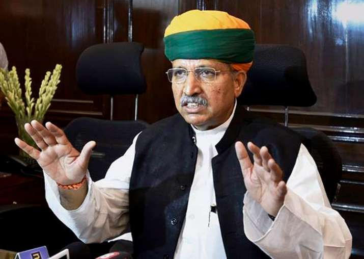 File pic of MoS for Finance and Corporate Affairs Arjun Ram