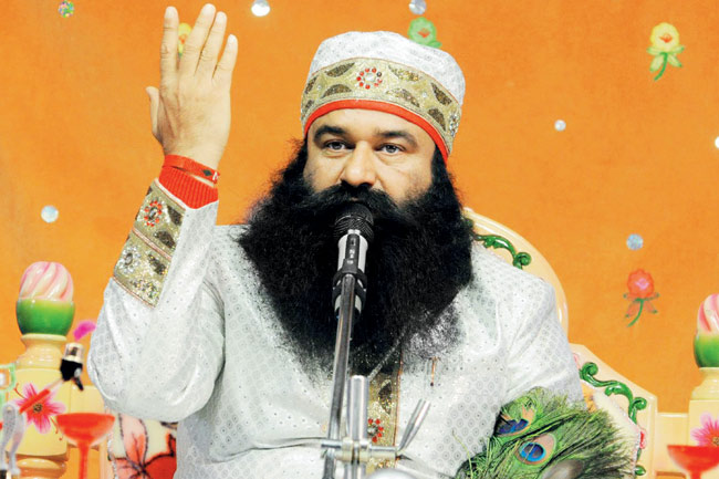 Ram Rahim has been given 2 10-year prison sentences which