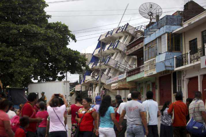 A magnitude 8.1 earthquake jolted Mexico on Friday, killing