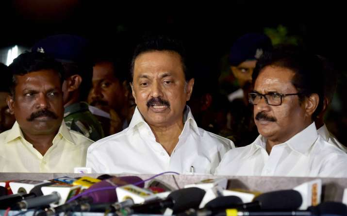 DMK-led Opposition asks TN Governor to convene Assembly