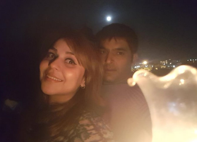 Kapil Sharma and Ginni Chatrath head for splitsville?
