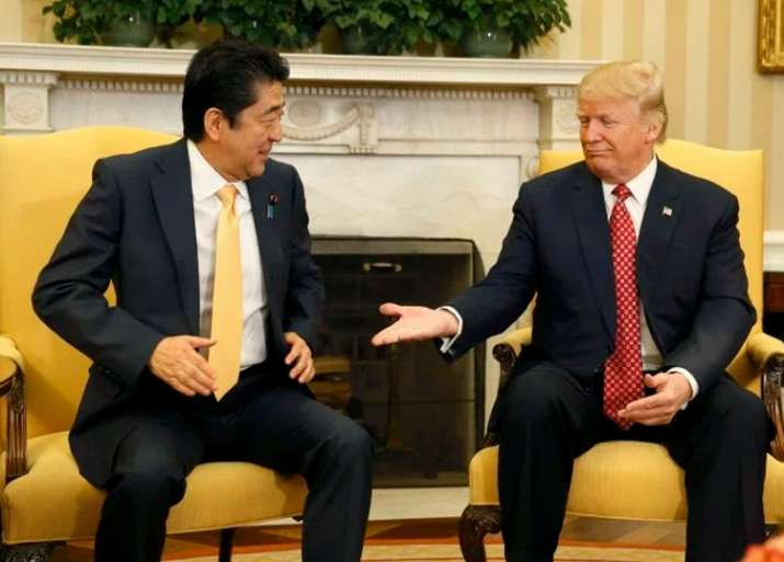 File pic - Trump, Abe discuss 'growing threat' posed by