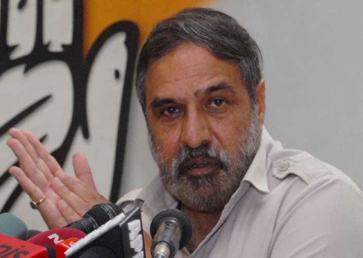 File pic of Congress leader Anand Sharma